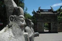 Soldados chinos del guarda Imágenes de archivo libres de regalías