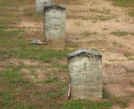 Soldados confederados desconocidos Fotografía de archivo