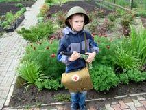 Soldados da criança Fotos de Stock Royalty Free