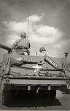 Soldados da era da segunda guerra mundial Imagem de Stock