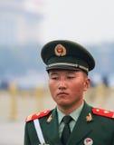 Soldados da Praça de Tiananmen foto de stock royalty free