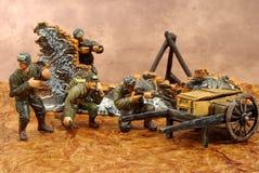 Soldados de brinquedo imagens de stock royalty free