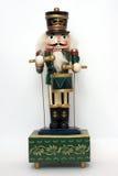 Soldados de brinquedo no fundo branco Imagem de Stock Royalty Free