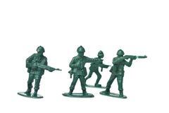 Soldados de brinquedo plásticos Imagem de Stock Royalty Free