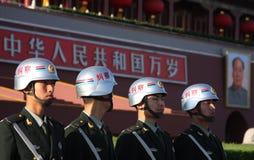 Soldados de China foto de archivo libre de regalías