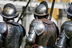 Soldados de la guardia acorazados reales Imagen de archivo
