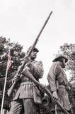 Soldados de la guerra civil Fotografía de archivo libre de regalías