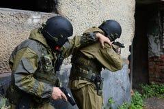 Soldados de las fuerzas especiales Foto de archivo