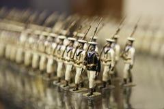 Soldados de lata Fotos de Stock