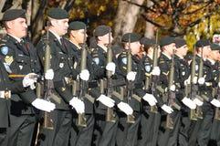 Soldados de los canadienses Fotos de archivo libres de regalías