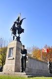 Soldados de los canadienses Fotografía de archivo