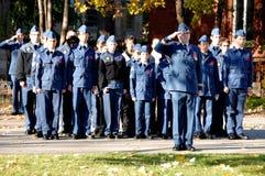 Soldados de los canadienses Imagen de archivo libre de regalías