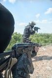 Soldados de los ops de espec. Foto de archivo libre de regalías