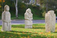 Soldados de piedra imagen de archivo libre de regalías