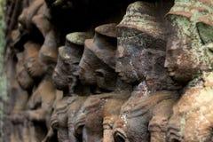 Soldados de piedra Imagen de archivo