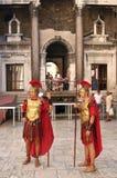 Soldados del legionario Foto de archivo