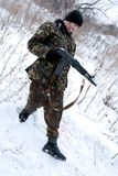 Soldados do ½ e de ТÐ. Imagem de Stock Royalty Free