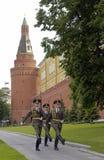 Soldados do russo - Kremlin - Rússia Fotografia de Stock