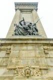 Soldados e monumento dos marinheiros - Siracusa, NY foto de stock