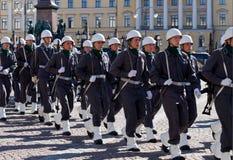 Soldados em cerimónias Foto de Stock Royalty Free