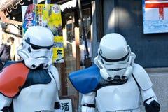 Soldados em Japão Fotos de Stock Royalty Free