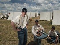 Soldados en Gettysburg Foto de archivo libre de regalías