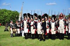 Soldados franceses do exército Fotografia de Stock