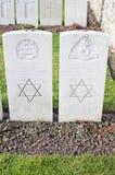 Soldados judíos en Primera Guerra Mundial Imágenes de archivo libres de regalías