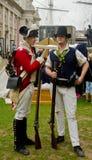 Soldados medievales imagen de archivo libre de regalías