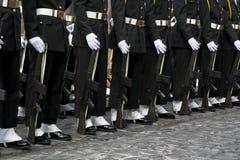 Soldados na cerimónia foto de stock royalty free
