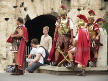 Soldados romanos Foto de archivo libre de regalías