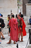 Soldados romanos Fotografia de Stock