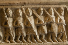 Soldados romanos fotos de stock