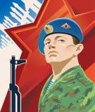 Soldados rusos Imagen de archivo