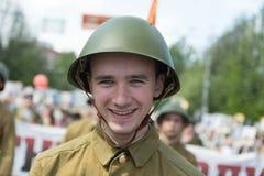 Soldados soviéticos Imagens de Stock
