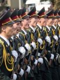 Soldados ucranianos Fotografia de Stock