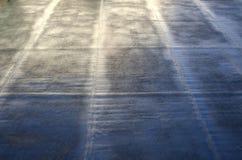 Soldadura de una envoltura impermeable Imagen de archivo libre de regalías