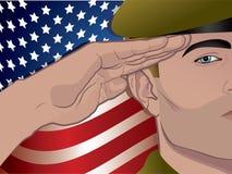 Soldat Image libre de droits