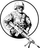 soldat Royaltyfri Fotografi