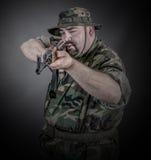 Soldat Photographie stock
