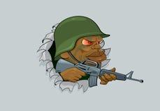 soldat stock abbildung
