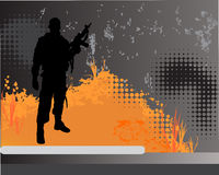 Soldat Lizenzfreie Stockfotos