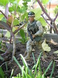 Soldat Action Figure Photographie stock