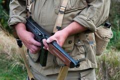 Soldat américain Photos stock
