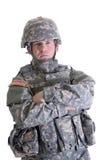Soldat américain de combat Image libre de droits