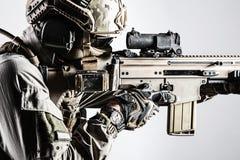 Soldat d'armée des forces d'opérations spéciales photos stock