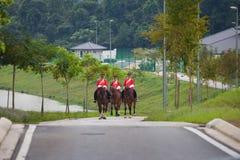 Soldat de cheval de la Malaisie Photo libre de droits