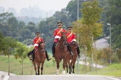 Soldat de cheval de la Malaisie Photographie stock