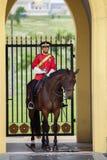Soldat de cheval de la Malaisie Photographie stock libre de droits