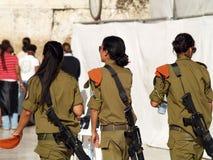 Soldat de femmes d'IDA photo libre de droits